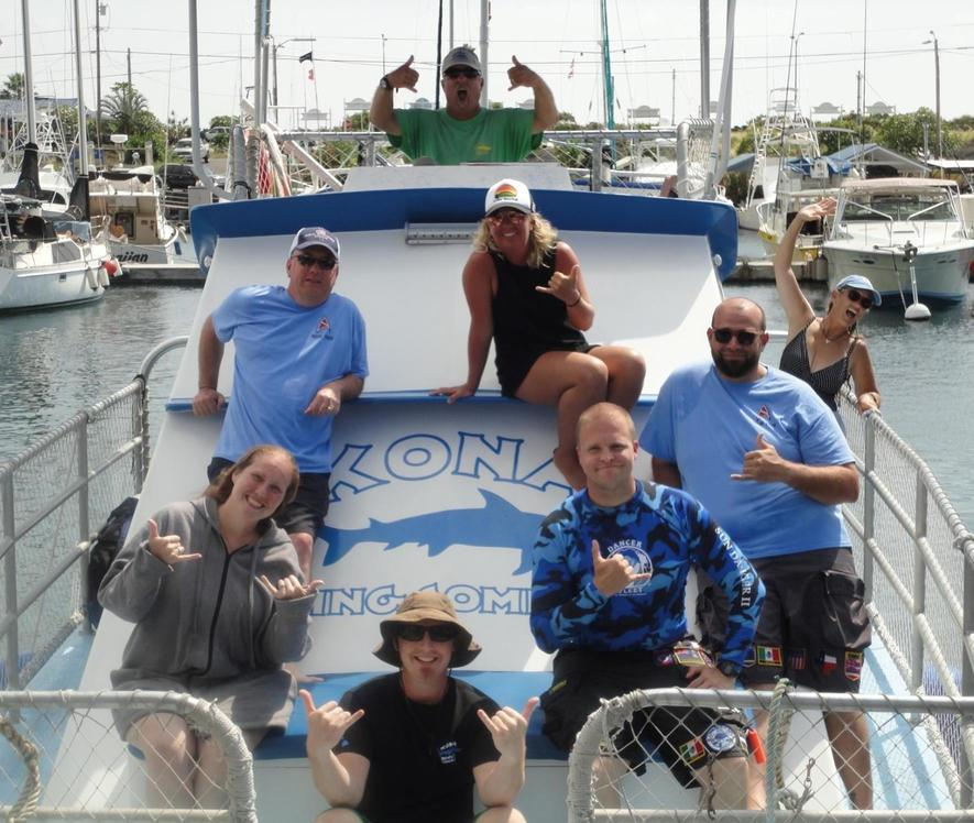 Kona Diving Company >> Hawaii Marlin Fishing Kona Diving Company